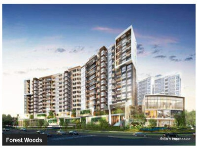 Forest Woods condo at Lorong Lew Lian