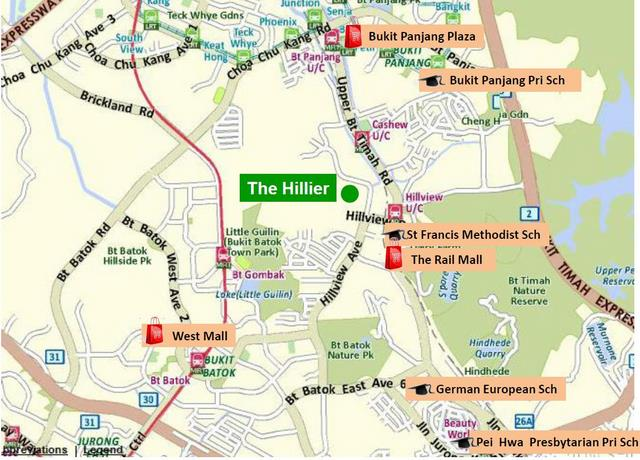 the hiller location