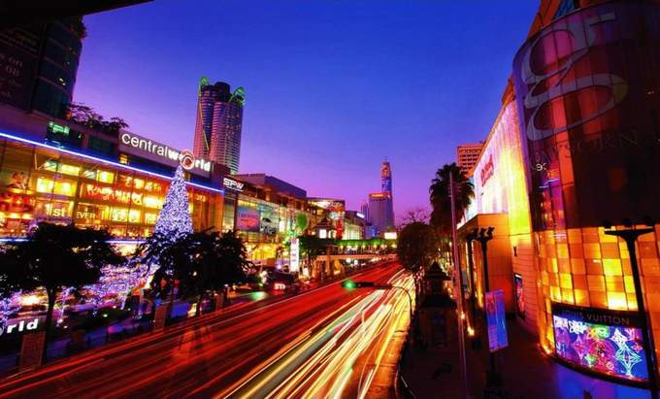 Bangkok's shopping belt
