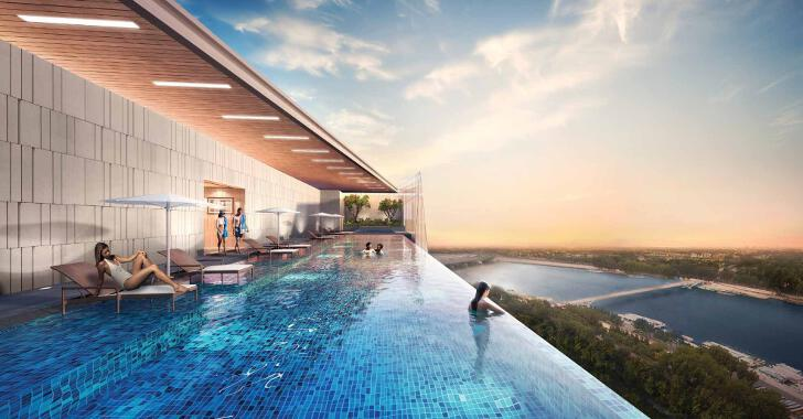The Peak @ Cambodia, Infinity Pool