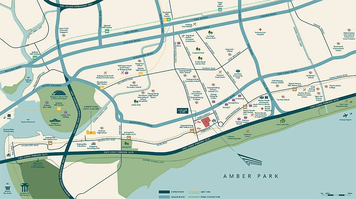 Amber Park location and amenities