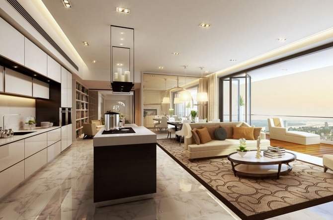 The Astaka living and dining