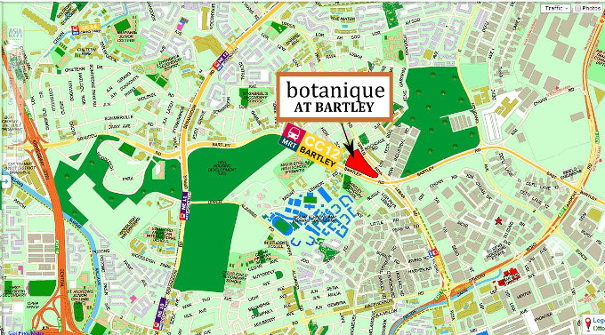 botanique at bartley location map