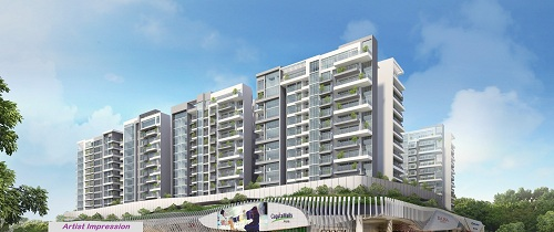 bedok residences facade