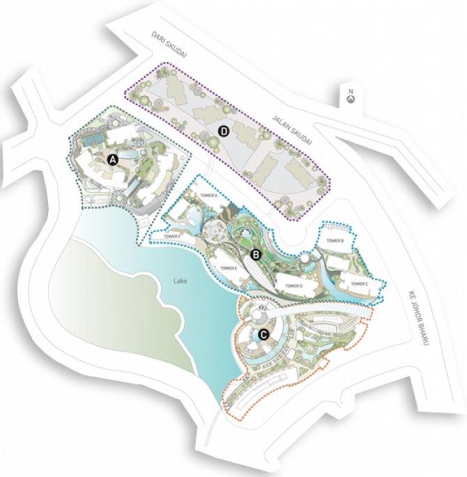 Bora Residences site plan