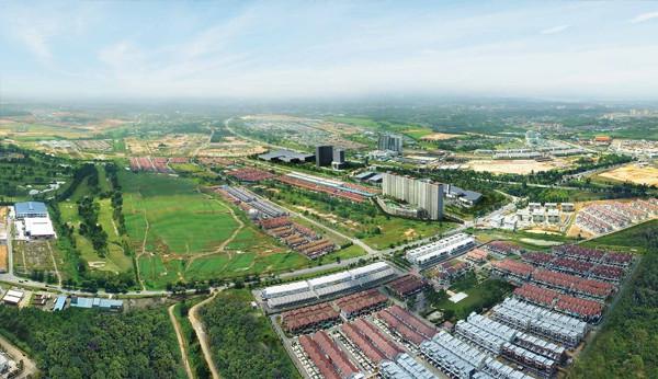 d'secret garden aerial view