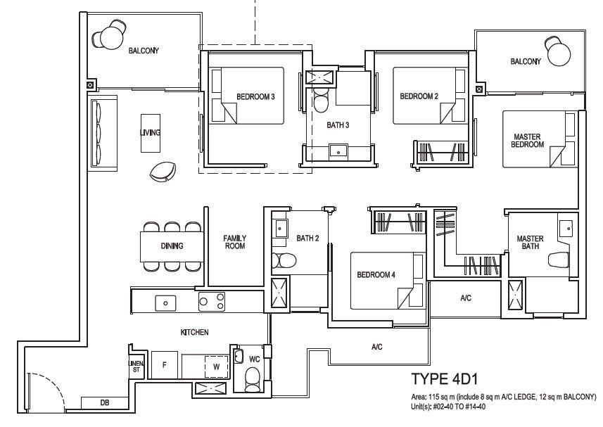 4 bedroom deluxe