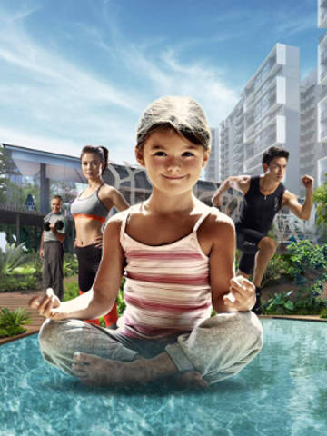 Grandeur Park Residences Wellness Theme