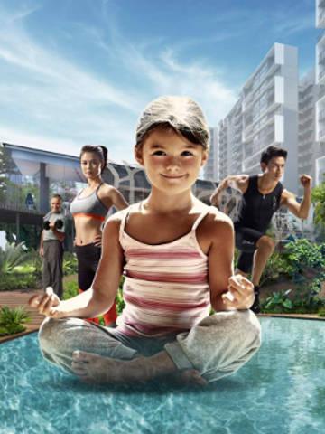 Grandeur Park Residences Wellness Theme