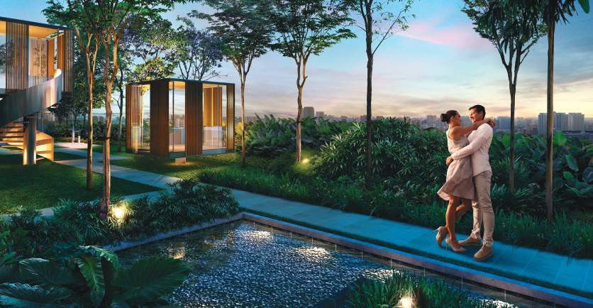 Grandeur park residences collection for mind facilities