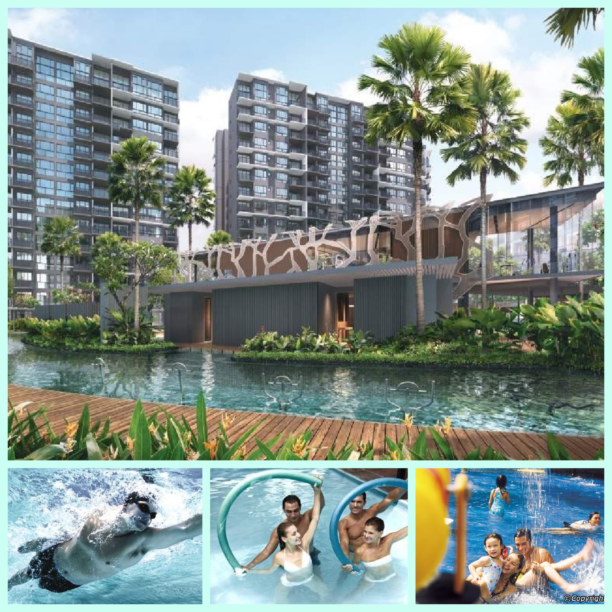 Grandeur Park Residences water facilities