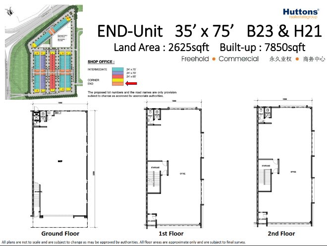 end unit B23 and H21