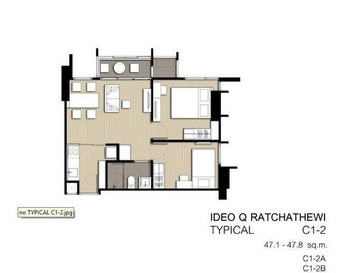 2 bedroom C1-2
