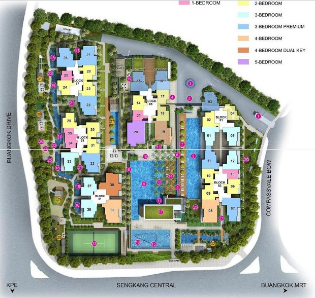 jewel siteplan
