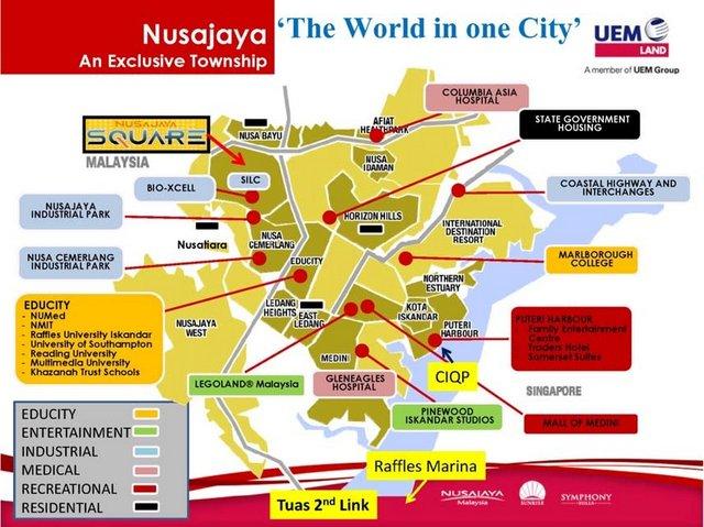 nusajaya township