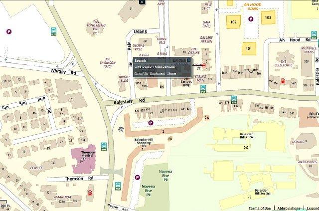 one dusun map
