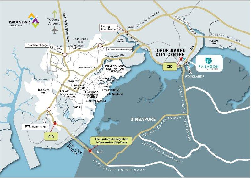 paragon suites location map