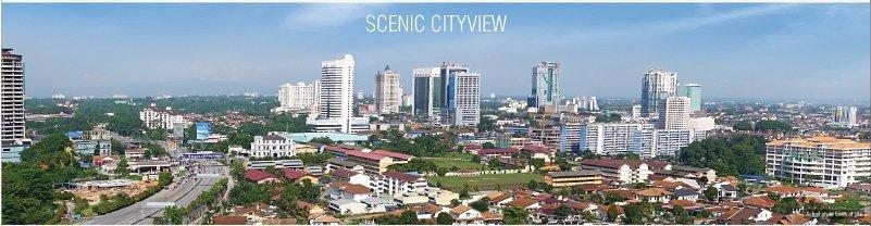 scenic cityview