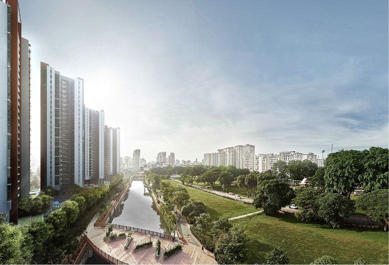 Principal Garden's Alexndra Pk Connector view
