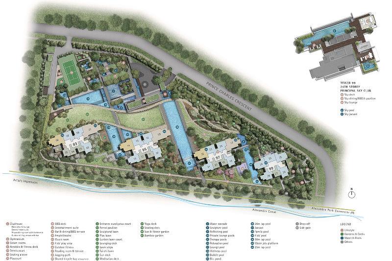 Principal Garden Sitemap