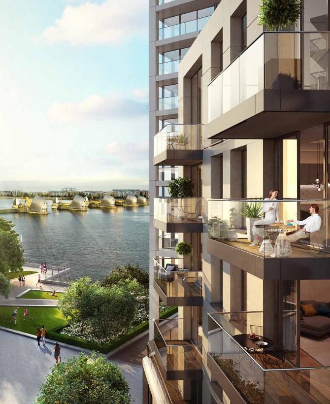 royal wharf apartments