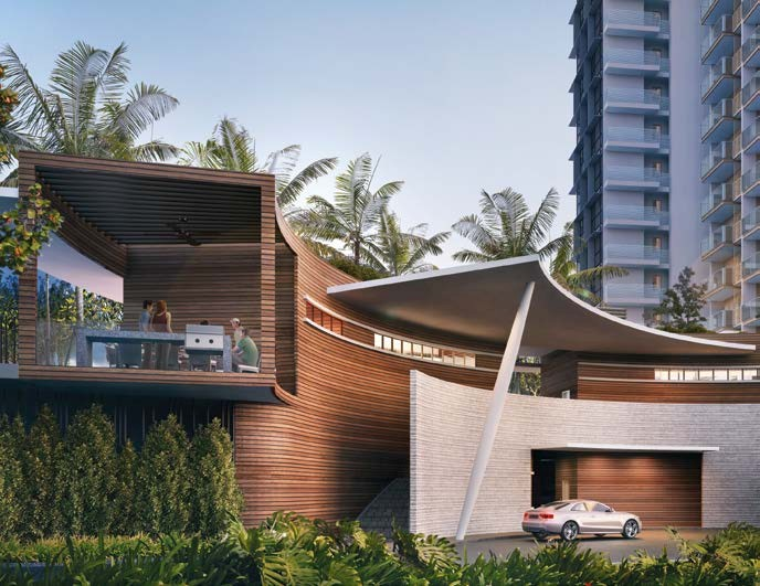 Seaside residences clubhouse