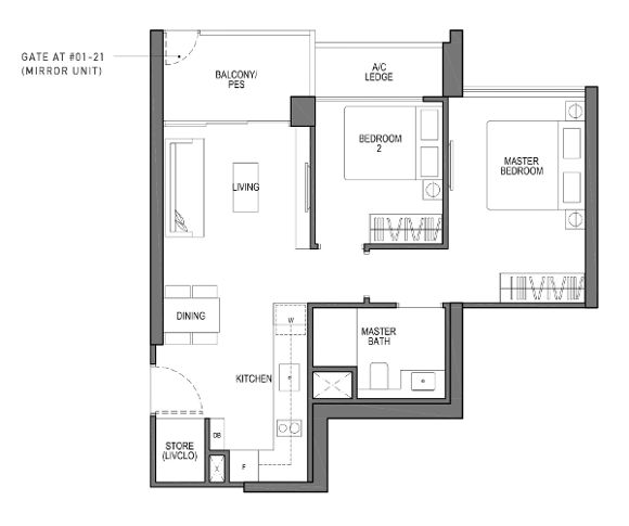 VIVA 2 bedroom compact