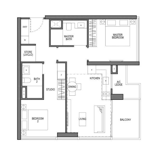 2 Bedroom VIVA