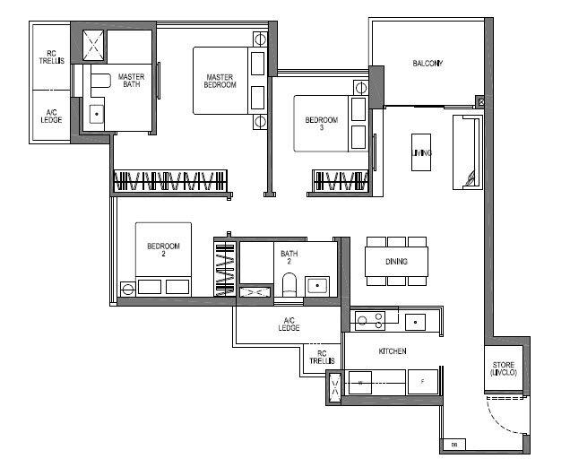 VIVA 3 bedroom