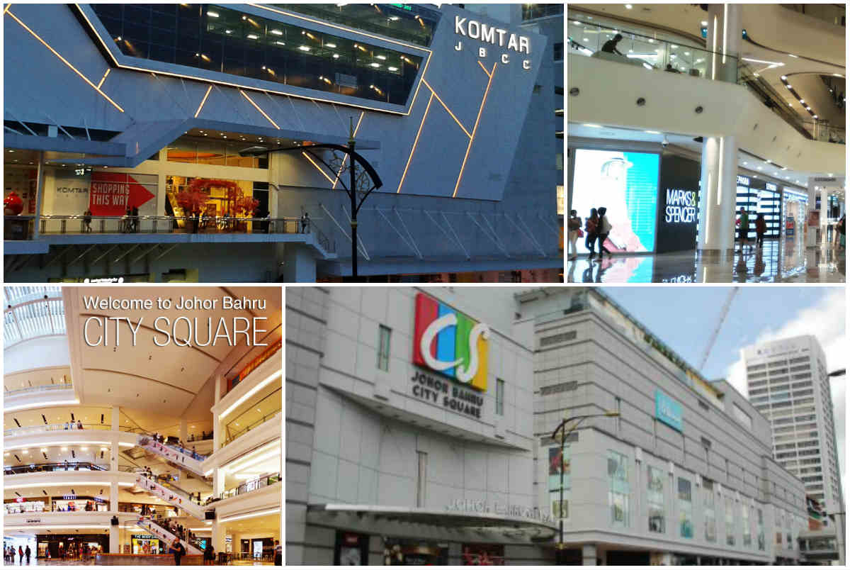 shopping malls at jbcc