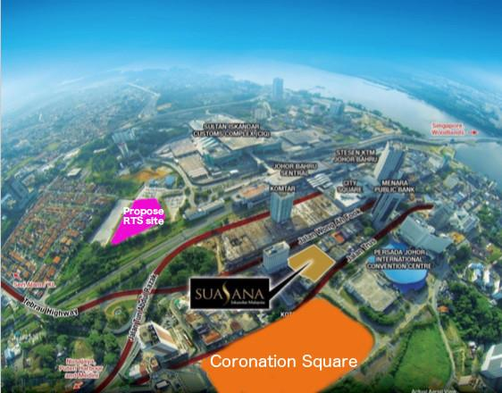 Coronation Square and Suasana Iskandar