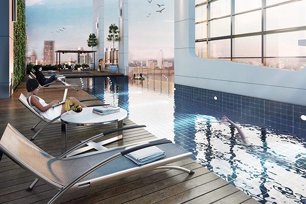 sky pool deck