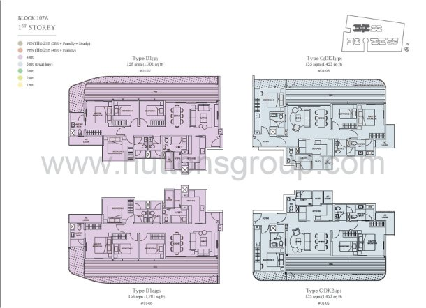 the tembusu floor plan le nouvel ardmore