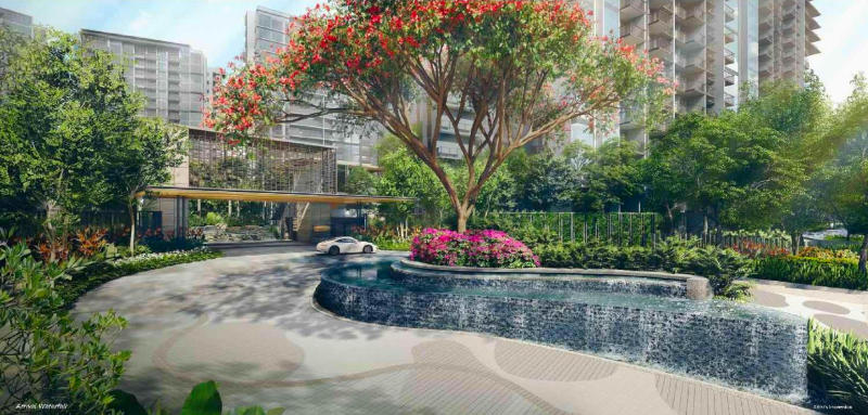 The Florence Residences biophila landscape design