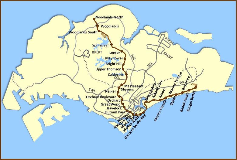 TEL map