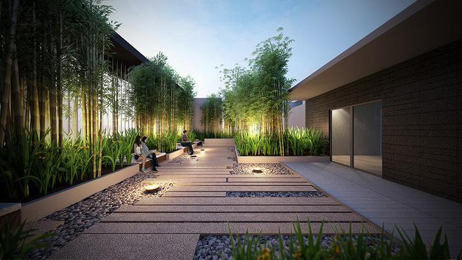 trilive meditation garden