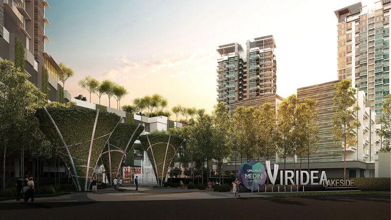 Viridea grand entrance