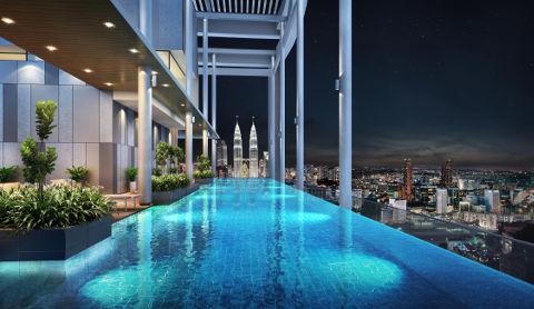 The Luxe kl infinity pool