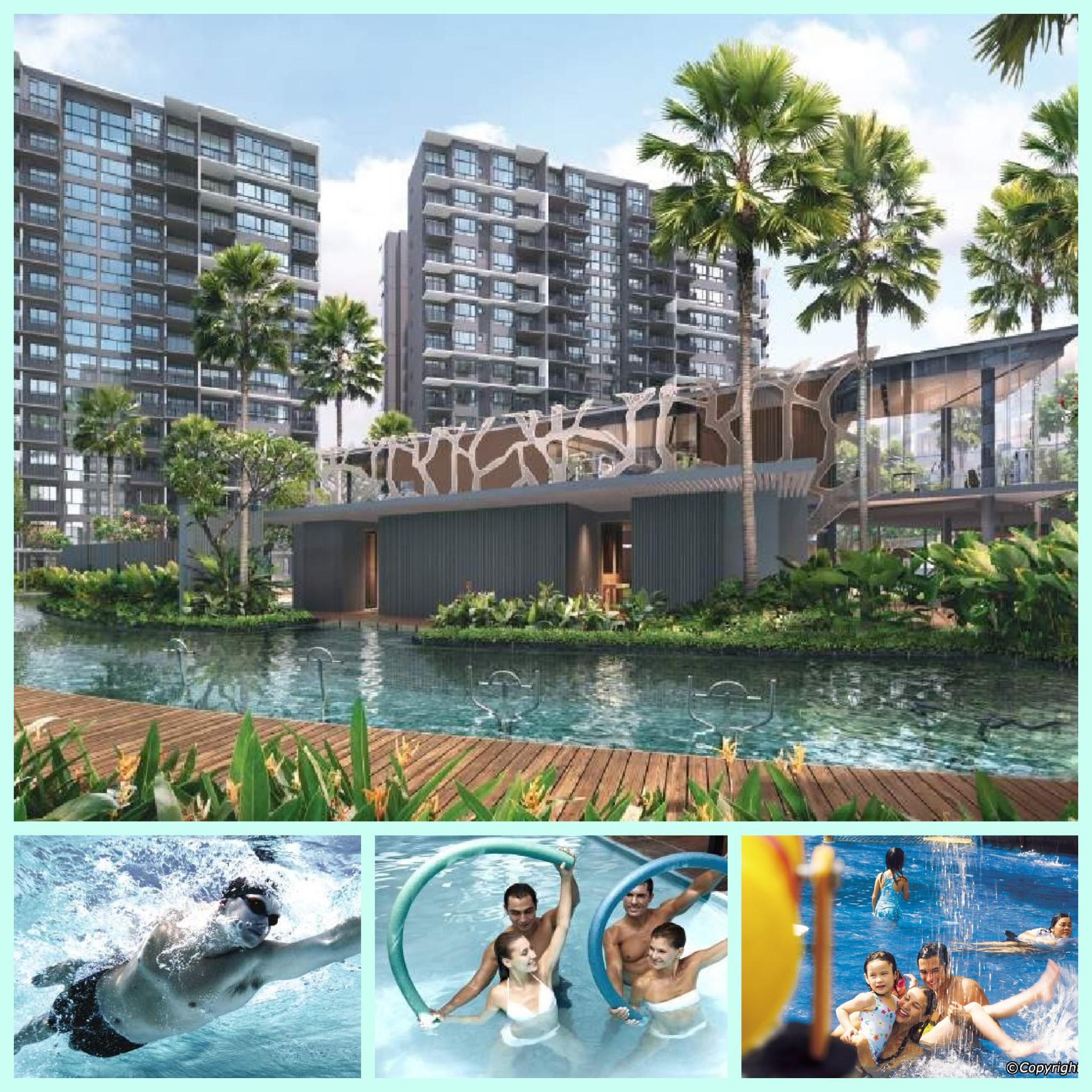 Grandeur Park Residences water facilities