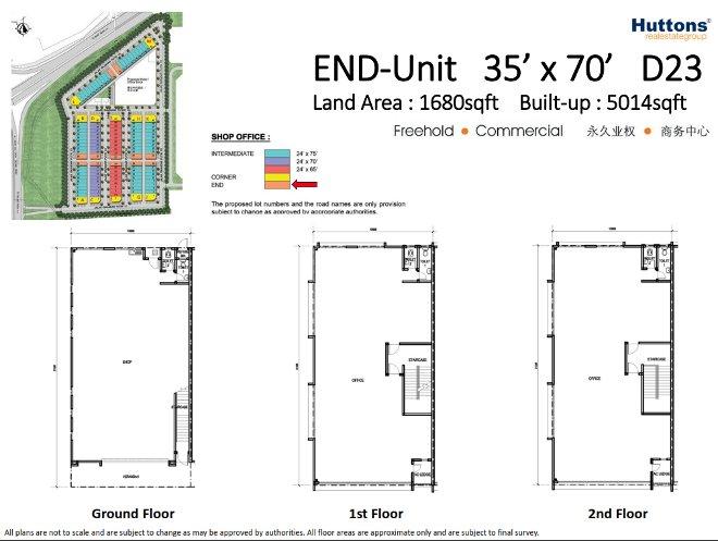 End Unit Type D23