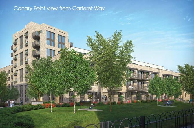 Canary Point form Carteret Way