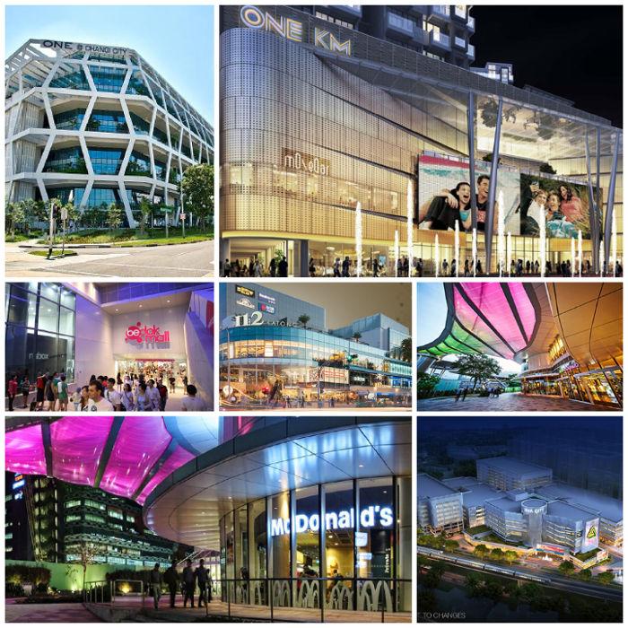 Seaside Residences -malls