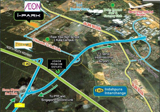SME City location map
