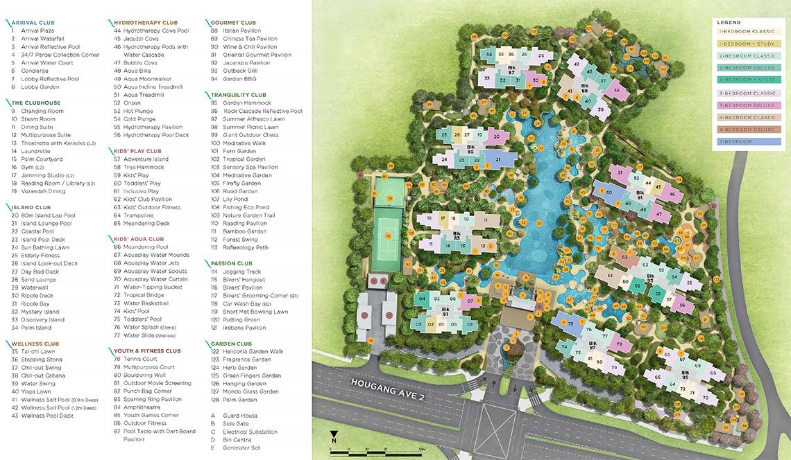 The Florence Residences siteplan